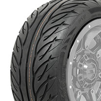 215/40-R12 GTW Fusion GTR Steel Belted DOT Tire (No Lift Required)