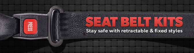Stay safe with a seat belt kit