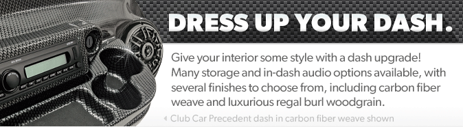 Give your interior some style with a dash upgrade!