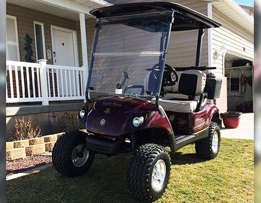 Dallas cowboys golf cart decals the best cart for Narrow golf cart