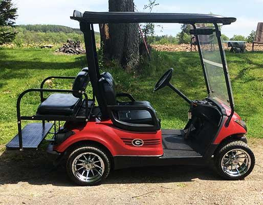 Show us your golf cart customer carts for Narrow golf cart
