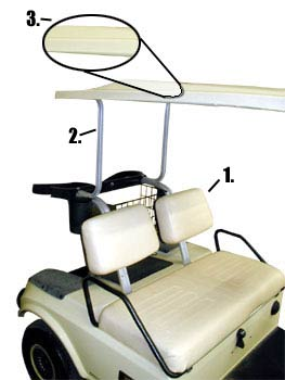 Club Car Serial on yamaha golf cart parts diagram