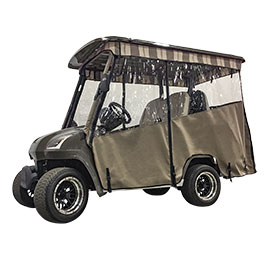Cart with Chameleon Enclosure