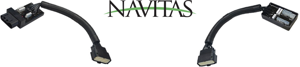 Navitas Harnesses and Logo