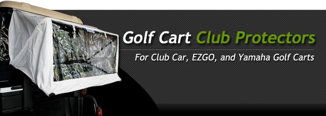 Golf Cart Golf Club Protector for Club Car EZGO and Yamaha Golf Carts & Golf Cart Club Protectors | BuggiesUnlimited.com
