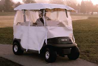 Buggies Unlimited Deluxe Golf Cart Enclosure!