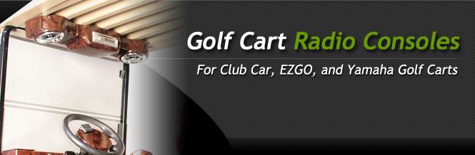 Radio Console For Golf Cart Golf Cart Radio Console Kits