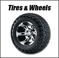 Golf Cart Tires & Wheels