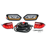 GTW Club Car Tempo LED Head Light & Taillight Kit (Fits 2018-Up)