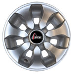 8 inch GTW Drifter Silver Wheel Cover (Universal Fit)