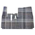 Chilewich® Premium Yamaha Drive2 Gray Plaid Floor Mat