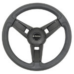 Gussi Giazza Black Steering Wheel For All E-Z-GO TXT /  RXV Models