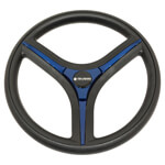 Gussi Brenta Black/ Blue Steering Wheel (Models Yamaha G16-Drive 2)