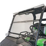 E-Z-GO TXT/ S4 Baja Cage Folding Tinted Windshield