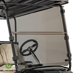 Buggies Unlimited Tinted Folding Windshield - Club Car Precedent, Onward, Tempo