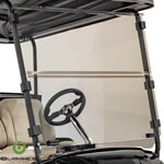 Buggies Unlimited Clear Folding Windshield - Yamaha Drive2 (Fits 2017-Up)