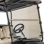 Buggies Unlimited Clear Folding Windshield for E-Z-GO Freedom TXT/ T48 (Fits 2014-Up)