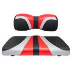 Red Dot® Blade Front Seat Covers for Yamaha Drive/ Drive2 -Red /  Silver /  Black Carbon Fiber