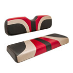 Red Dot® Blade Seat Covers for GTW Mach1 & 2 Seat Kits - Garnet/ Champagne/ Black Carbon Fiber