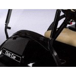 Clear Club Car Precedent 1-piece Windshield (Fits 2004-Up)