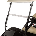 Clear - Club Car Precedent Folding Windshield (Fits 2004-Up)