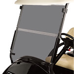Tinted Club Car Precedent Folding Windshield (Fits 2004-Up)