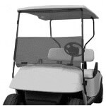 Folding Windshield for EZGO ST-Sport 2+2(Tinted)