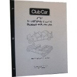 Gas Club Car DS Service Manual (Fits 1984-1985)