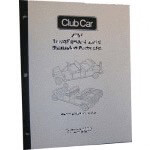 Electric Club Car Powerdrive 48-Volt Supplemental Service Manual (Fits 1998-1999)