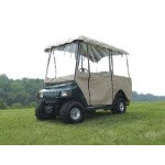 "Beige 4-sided 4-Passenger Enclosure - 80"" Tops (Universal Fit)"