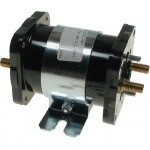 48-Volt 6-Terminal Silver Solenoid (Universal Fit)