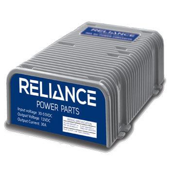 reliance 36v 48v 12v voltage reducer converter universal fit. Black Bedroom Furniture Sets. Home Design Ideas