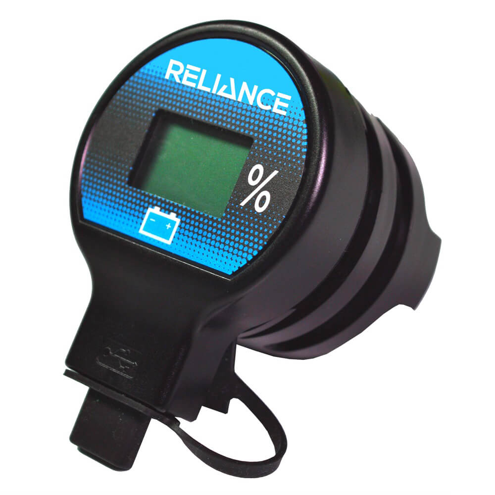 reliance  solid state battery meter usb charger
