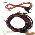 Bazooka Plug-and-Play Wiring Harness For 8″ Subwoofer)