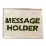 Message Holder (Universal Fit)