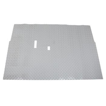 Club Car Ds Grey Diamond Plate Floor Mat Fits 1982 Up