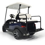 GTW Club Car Precedent White Rear Flip Seat (Fits 2004-Up)