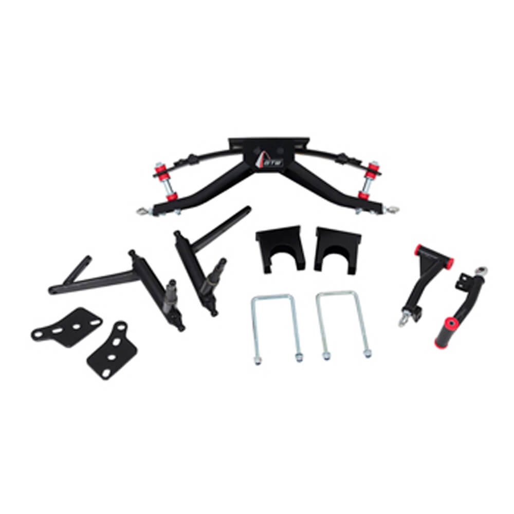 Lift kits for club car golf carts buggiesunlimited club car ds gtw 6 a arm lift kit fits 2003 up publicscrutiny Images