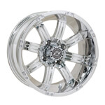 GTW Tempest 14 inch Chrome Wheel (3:4 Offset)