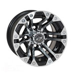 GTW Specter 10 inch Machined & Black Wheel (3:4 Offset)