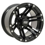 GTW Specter 12 inch Matte Black Wheel (3:4 Offset)