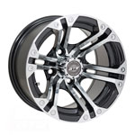 GTW Specter 12 inch Machined & Black Wheel (3:4 Offset)