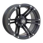 GTW Specter 14 inch Matte Black Wheel (3:4 Offset)