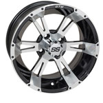 GTW Yellow Jacket 14 inch Machined & Black Wheel (3:4 Offset)