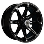14 in GTW Black Element Wheel