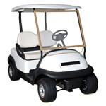 Classic Accessories Deluxe Portable Golf Cart Windshield (Universal Fit)