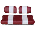 Yamaha Red /  White Seat Cover Set (Models G2/ G9)