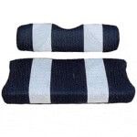 Yamaha Navy /  White Seat Cover Set (Models G29/ DRIVE)