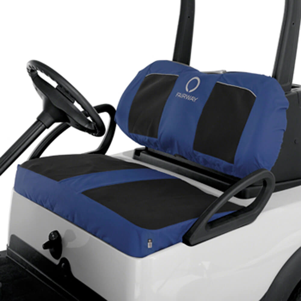 Classic accessories navy with black neoprene seat cover for Yamaha sun classic parts