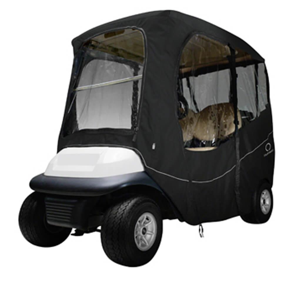 Classic Accessories Deluxe Black 2 Passenger Golf Cart